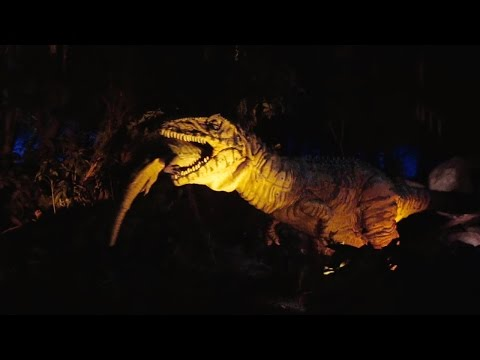 DINOSAUR Ride 2016, Low Light in Color, Disney