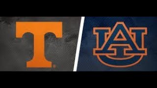 Live Reaction Watch Party: Tennessee Vols vs <b>Auburn</b> Tigers ...