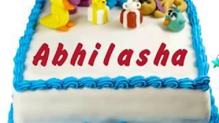 Happy Birthday Abhilasha