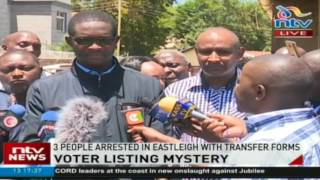 IEBC quashes allegations stolen BRV kits were used in Eastleigh to register voters