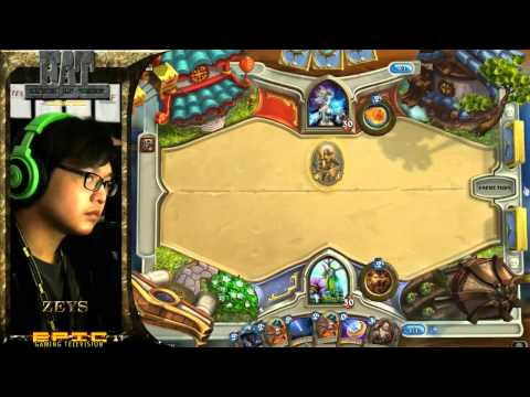 Hearthstone - HAT Singapore Group Stages : Xinhuan vs Zeys