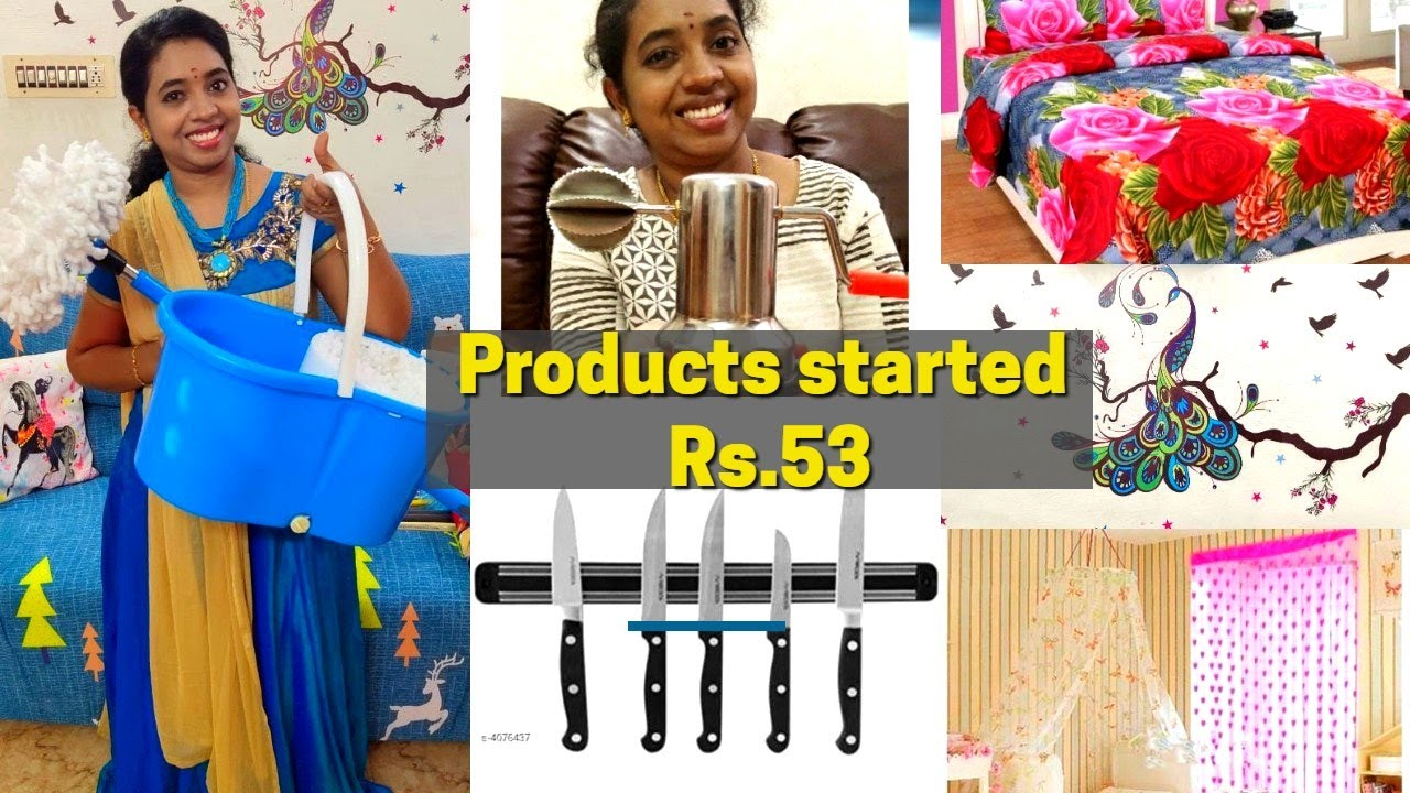 Home & Kitchen Products Haul || Shopping Haul After Lockdown || Products Start from Rs.53