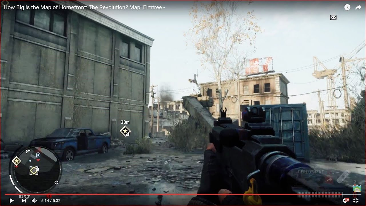 How Big is the Map of Homefront: The Revolution? Map: Elmtree ...