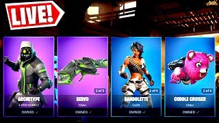 🔴 *NEW* ITEM SHOP RESET NOVEMBER 14TH NEW SKINS AND EMOTES MUST WATCH!!! (FORTNITE LIVE)