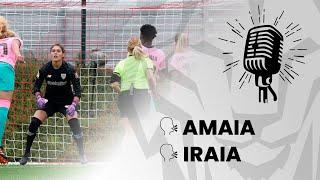 🎙️ Amaia Peña & Iraia Iturregi I post Athletic Club - FC Barcelona I J17 Primera Iberdrola