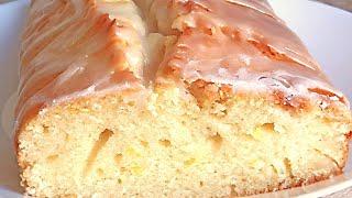 Лимонный Кекс с Глазурью Вкусный и Нежный - Простой рецепт