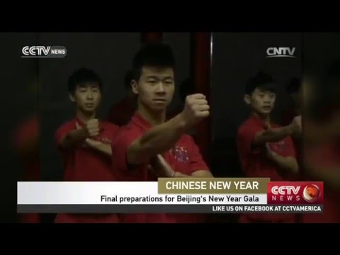 Final preparations for Beijing's New Year Gala