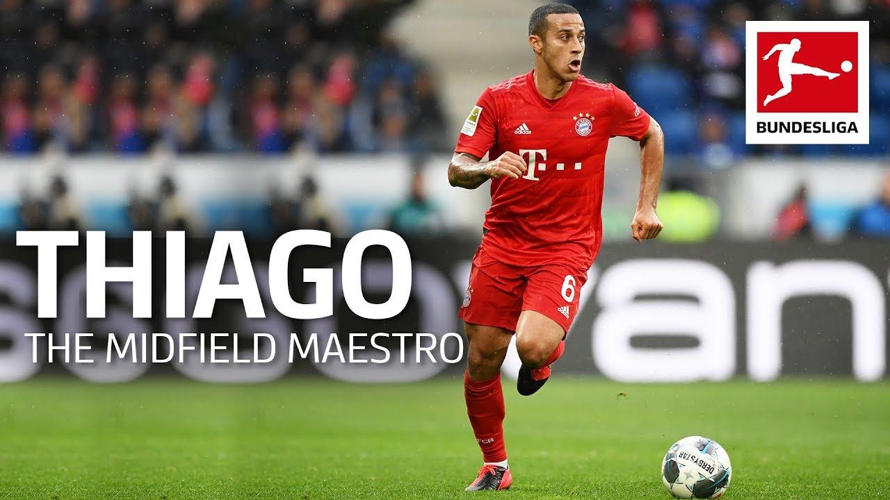 Thiago - FC Bayern's Midfield Maestro & Mastermind