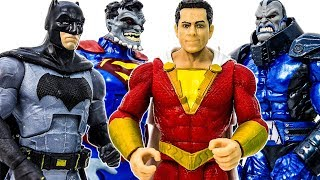 DC SHAZAM Appeared Help Batman Defeat Giant Darkseid & Superman Doomed #Toymarvel