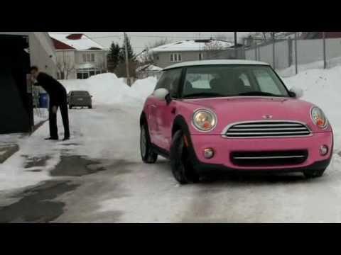 mini cooper cabriolet rose
