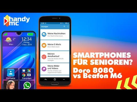Smartphones für Senior*innen? | Review & Vergleich | Beafon M6 vs. Doro 8080