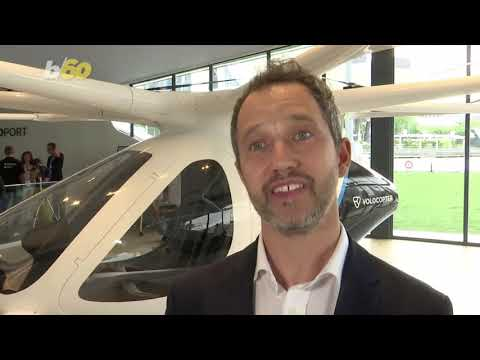 Volocopter's 'Flying Taxi' Shows Off the Future of Urban Travel in Singapore