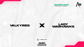 Valkyries vs Lady Warhawks - Campeonato Feminino Grande Final | Call of Duty: Modern Warfare