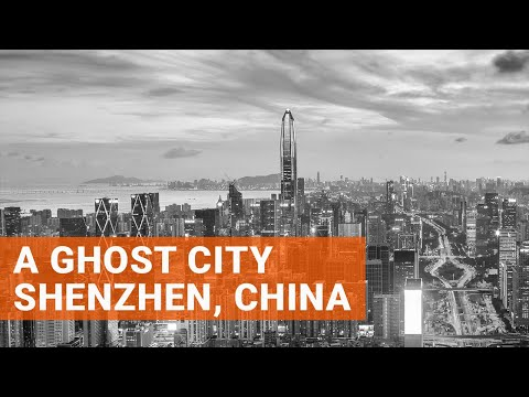 A Ghost City - Shenzhen, China