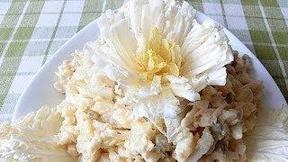 Салат столичный с рыбой рецепт