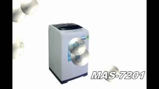 Máy giặt Midea cửa trên MAS-7201 7,2kg và MAS-8001 8kg giá siêu rẻ