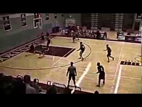Egzon Gjonbalaj Dunk Brooklyn College Basketball