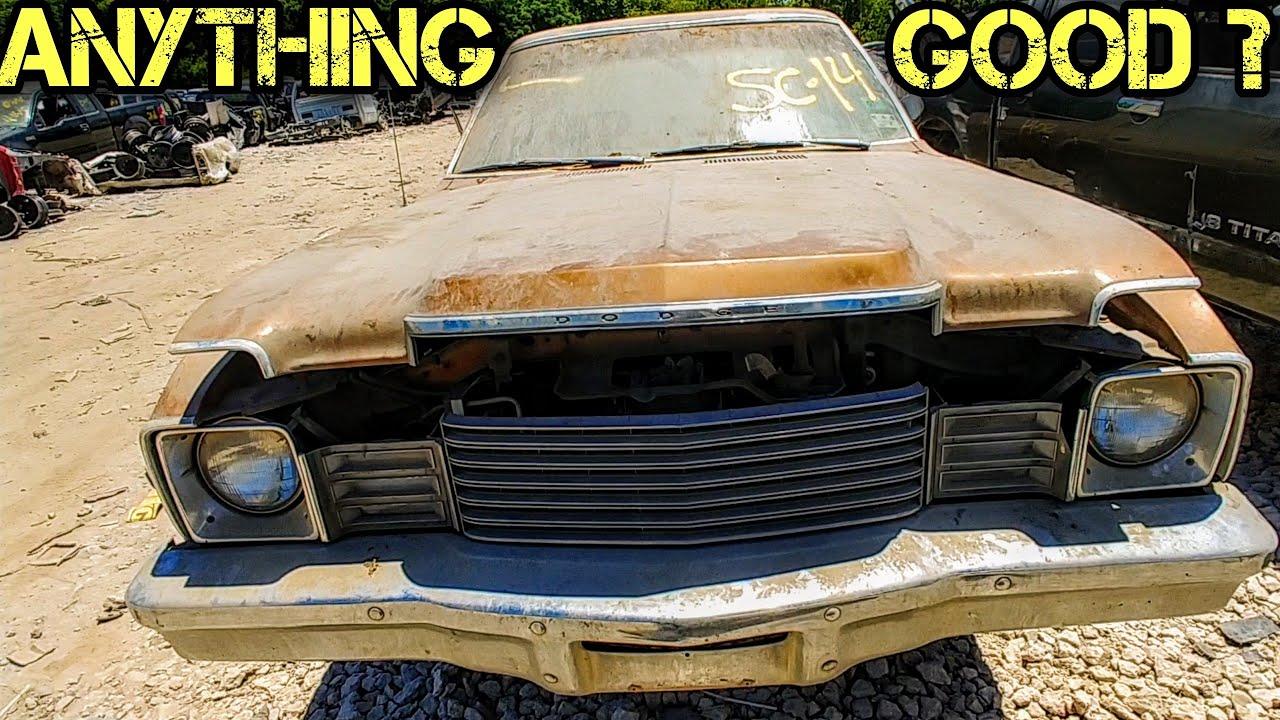 1979 Dodge Aspen Junkyard Find
