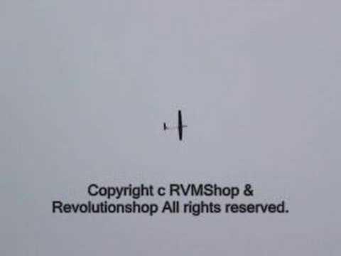 4Ch RC EP Fiberglass Ptero-X Thermo Glider