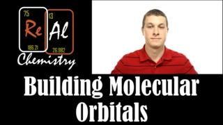 Building molecular orbitals from atomic orbitals - Real Chemistry