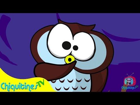 La lechuza hace shhh ♫ Canciones Infantiles ♫ Español