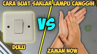 Cara buat saklar Lampu sensor tepuk