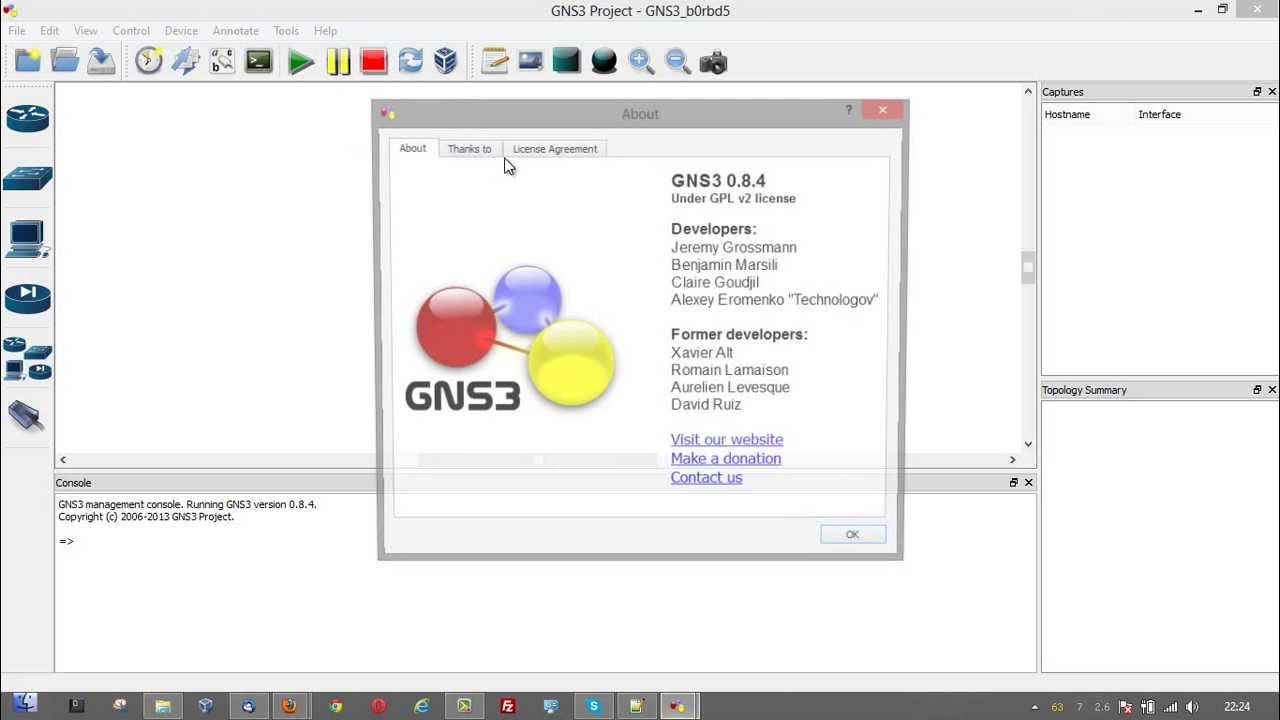 gns3 0.8.3