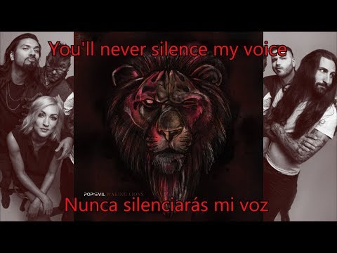 Pop Evil - Waking Lions LYRICS [English-Español]