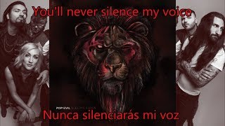Pop Evil Waking Lions LYRICS English Español