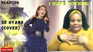 Have nothing (whitney cover) reaction ...