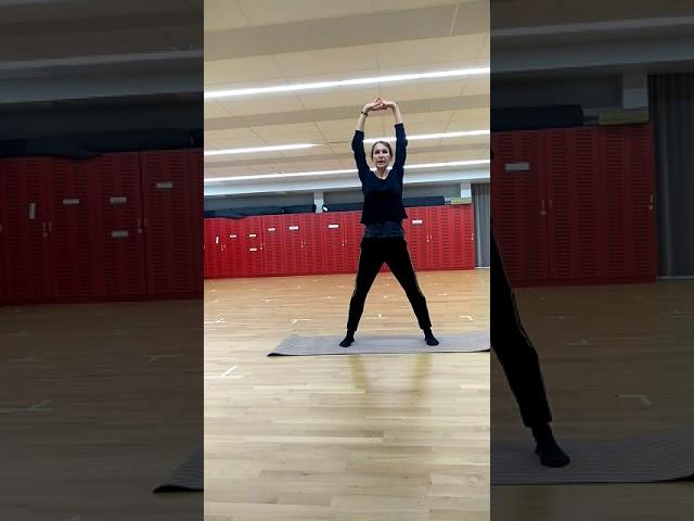 Étirements dos et jambes - 6'52