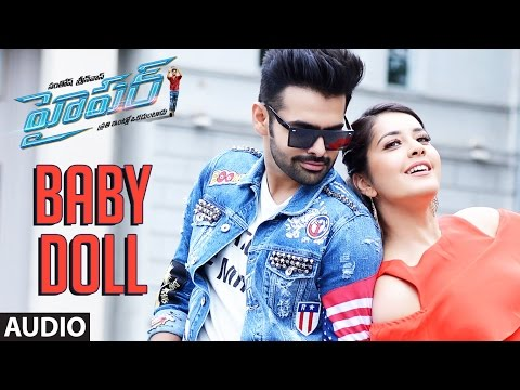 Baby Doll Full Song Audio || Hyper || Ram Pothineni, Raashi Khanna, Ghibran || Telugu Songs 2016