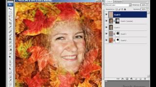 Видеоурок фотошоп -- Осенний портрет