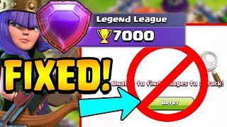 "HOW TO FIX CLOUDS in LEGEND LEAGUE!  The ""Swipe and Tap"" Technique!  Clash of Clans"