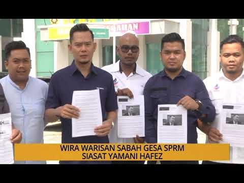 Kalendar Sabah: Wira Warisan Sabah gesa SPRM siasat Yamani Hafez