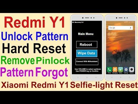 Unlock Pattern Redmi Y1 | Hard Reset Redmi Y1 | Remove Pattern Redmi Y1 | MI Redmi Y1