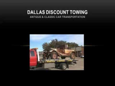 Antique Car Transportation By Dallas Discount Towing