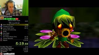 The Legend of Zelda: Majora's Mask Any% Speedrun (1:23:10)