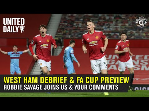 Group Chat   West Ham Review & Leicester FA Cup Preview   Robbie Savage joins us   Manchester United