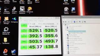 Short Boot Speed Follow-up with CrystalDiskMark Readings of NVMe and SATA SSD OS Drives