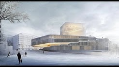 Großes Kino: Entwürfe für Theaterneubau in Rostock präsentiert