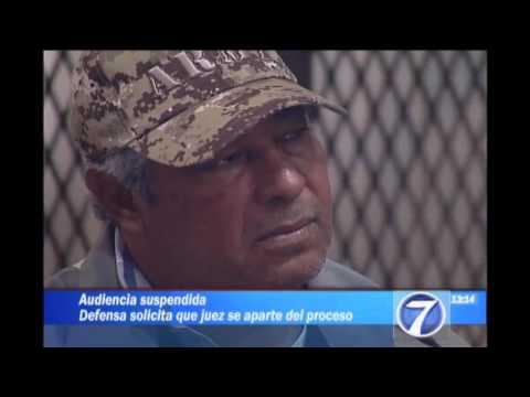 Suspenden audiencia de Manfredo Cordón