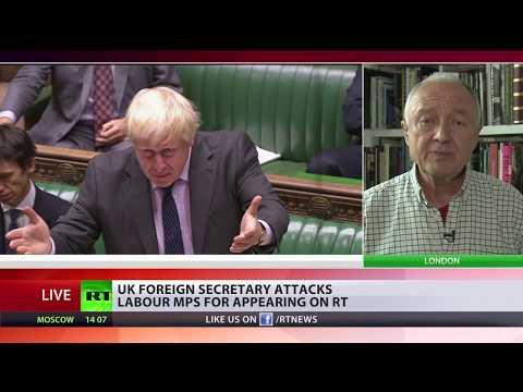 BoJo's comments on RT 'absolute rubbish' – ex-mayor Ken Livingstone