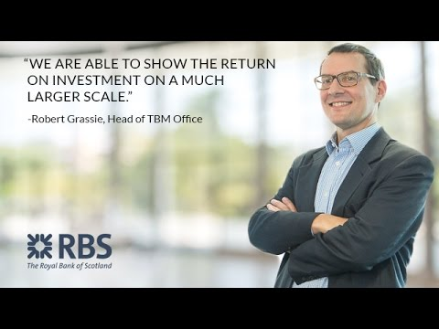 How TBM Supports Business Innovation at Royal Bank of Scotland