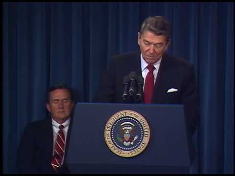 Download Youtube: President Reagan's Remarks on Anniversary of the US Trade Representative Office on November 18, 1987