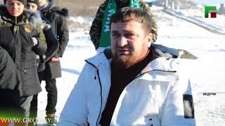 Активисты фан клуба Nokhchi Ultras посетили всесезонный горнолыжный курорт Ведучи