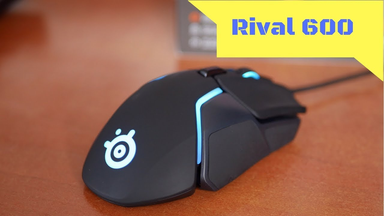 The best gaming mouse I've ever used - SteelSeries Rival 600