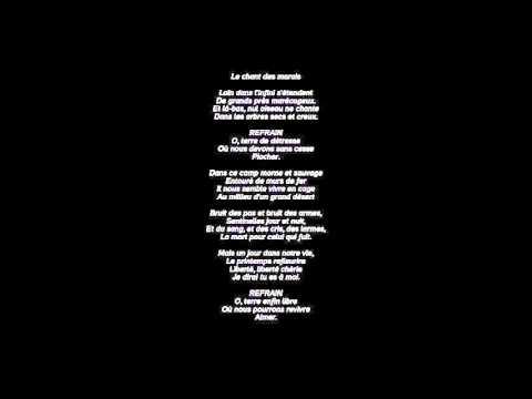 Le chant des marais