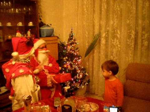 santa claus bringing christmas presents - Santa Claus With Presents