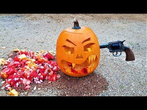 How To Carve Halloween Pumpkin. SHOT Jack O Lantern.